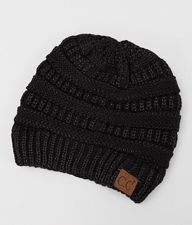 C.C® Metallic Knit Beanie
