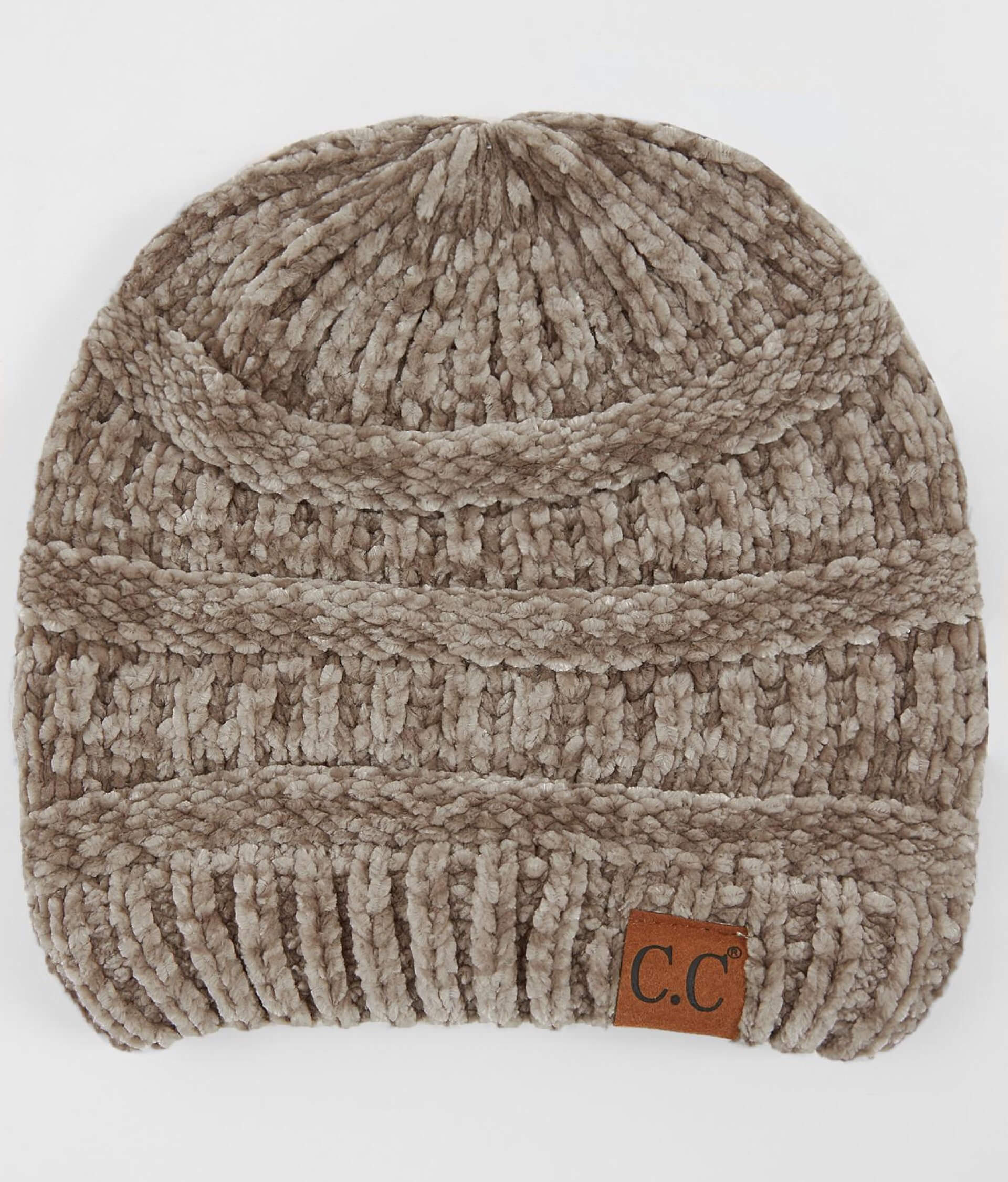 1501cf73a C.C Chenille Beanie - Women's Hats in Taupe | Buckle