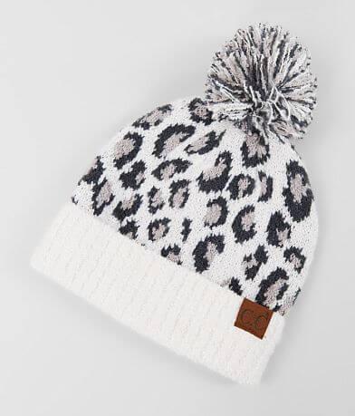 C.C® Leopard Pattern Beanie