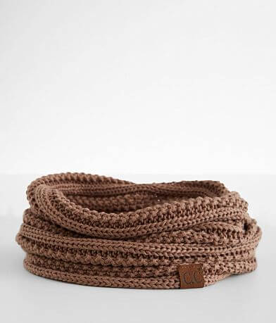 C.C® Ribbed Infinity Scarf