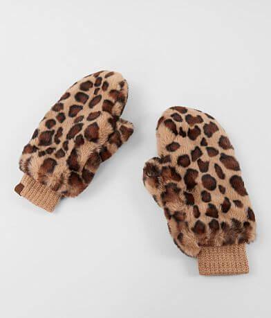 C.C® Leopard Print Convertible Mittens