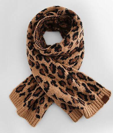 C.C® Jacquard Leopard Print Scarf
