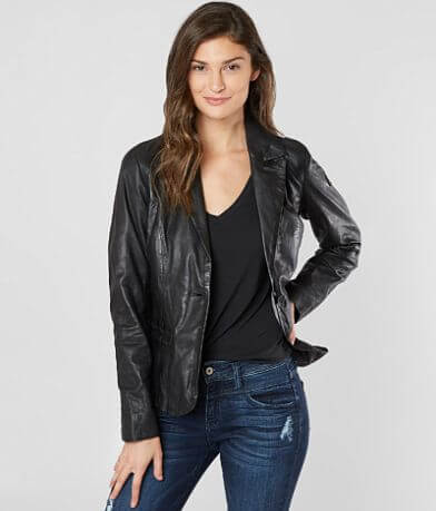 Mauritius Leather Blazer