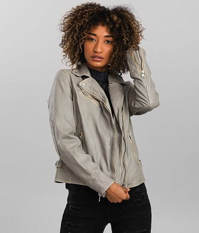 Mauritius Sofia Distressed Leather Jacket