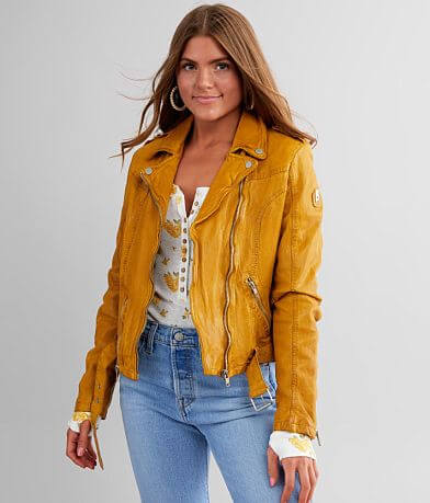 Mauritius Wild Leather Moto Jacket