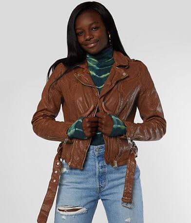 Mauritius Wild Leather Jacket