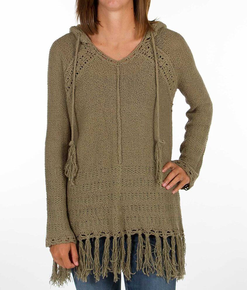 Love Stitch Crochet Sweater front view