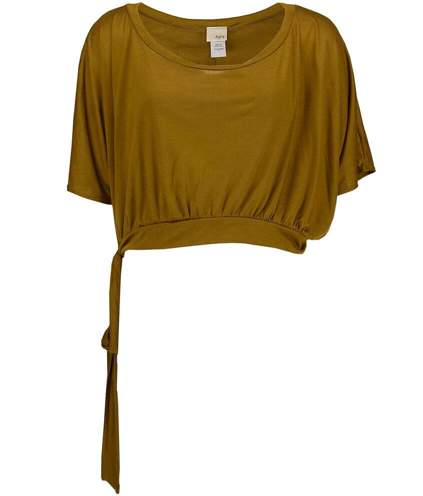 Daytrip Cropped Tie Top front view