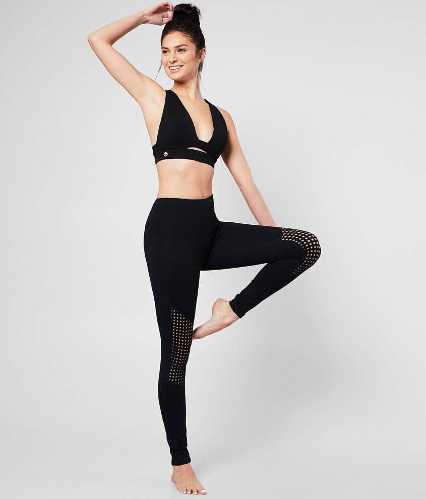 Motion by Coalition Perforated Active Legging front view