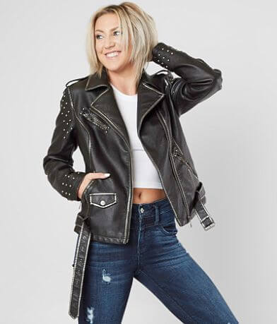Coalition LA Studded Moto Jacket