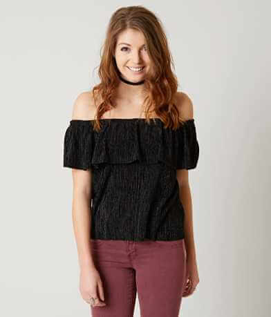 Daytrip Off The Shoulder Top