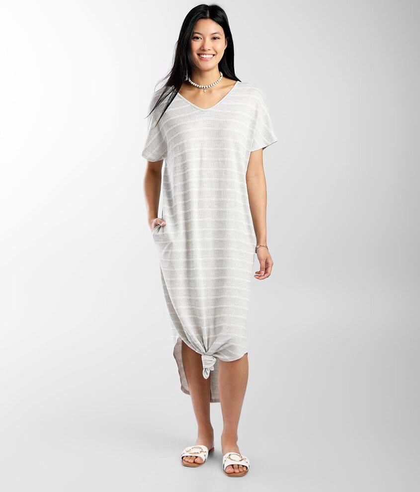 Daytrip Midi T-Shirt Dress front view