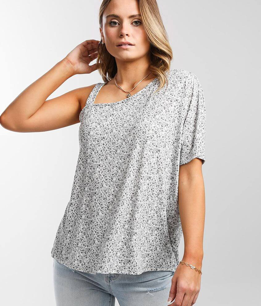 Daytrip Cold Shoulder Top front view