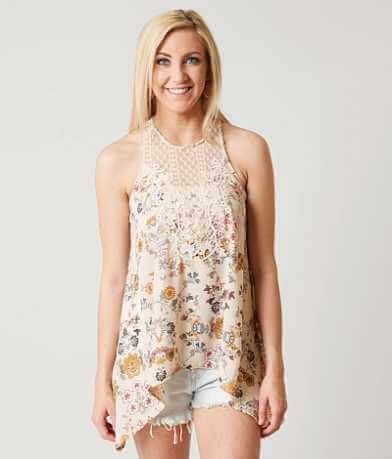 Band Crush Floral Tank Top
