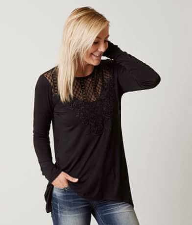 Daytrip Sharktooth Hem Top