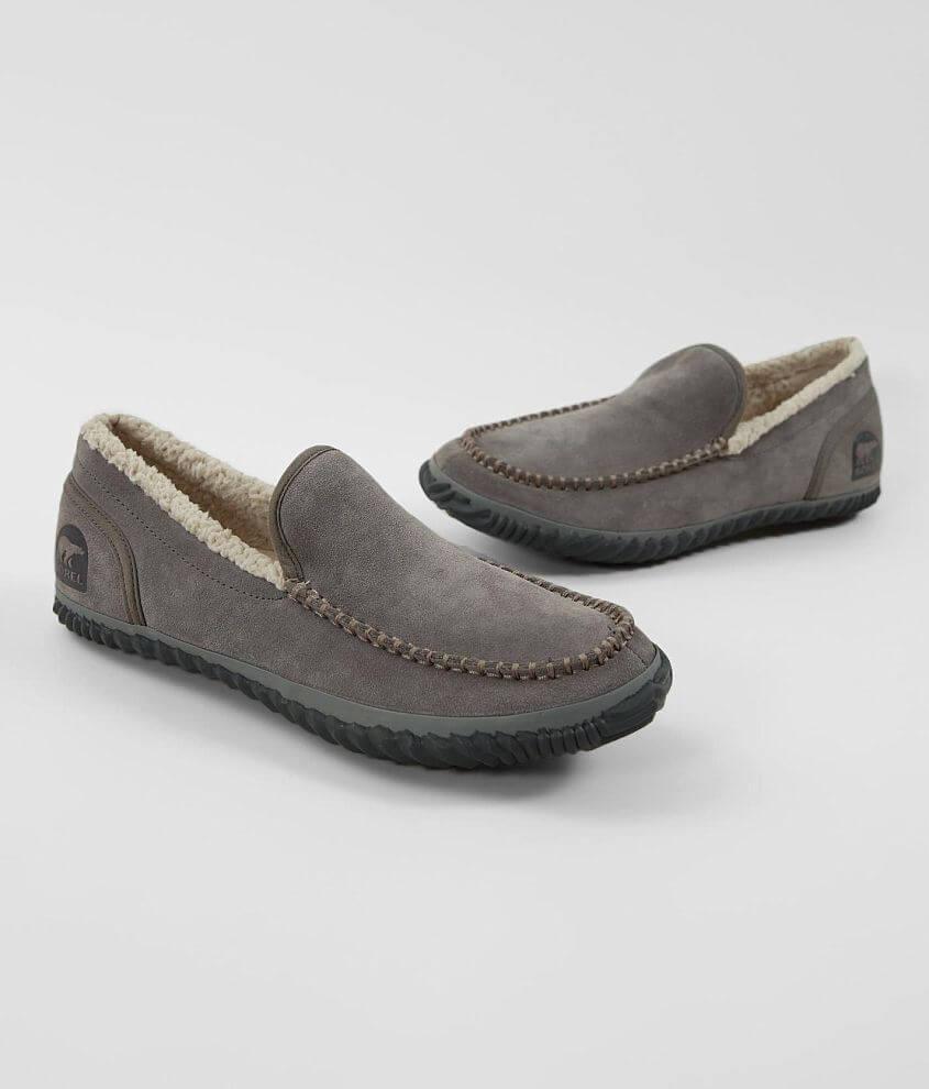 Sorel Dude Moc™ Suede Slipper Shoe front view
