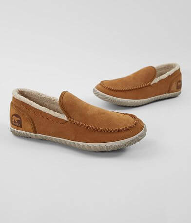 Sorel Dude Moc™ Suede Slipper Shoe