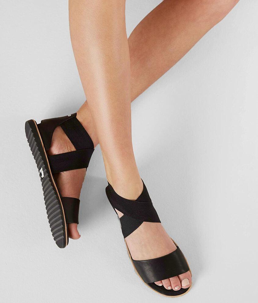Sorel Ella™ Leather Sandal front view