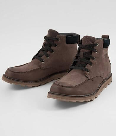 Sorel Madson™ Leather Moc Toe Boot
