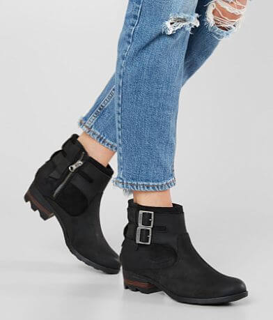 Sorel Lolla Waterproof Leather Ankle Boot