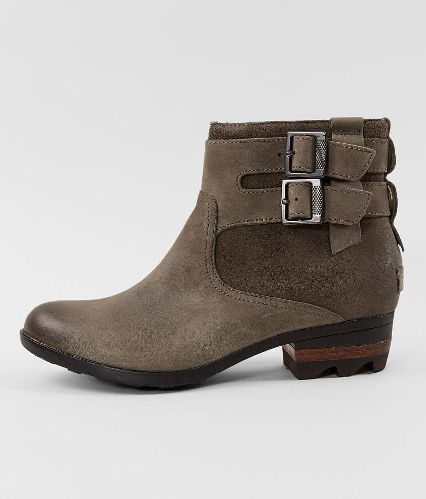 Sorel Lolla™ Waterproof Leather Ankle Boot front view