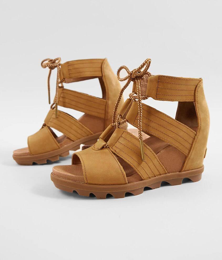 Sorel Joanie™ II Leather Wedge Sandal front view