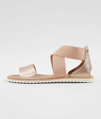 Sorel Ella™ Metallic Leather Sandal