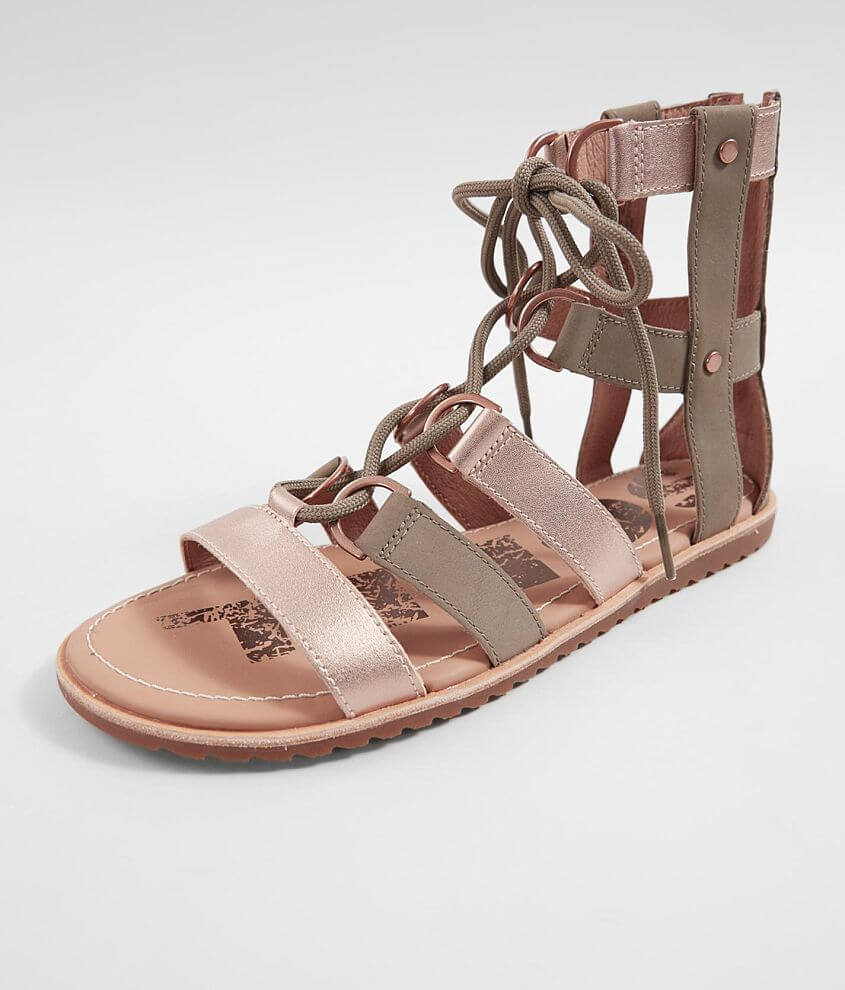 86da1a4db46 Sorel Ella™ Leather Sandal - Women s Shoes in Sage
