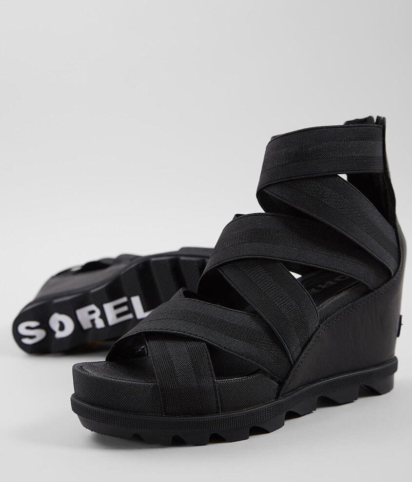 981cf1877c03 Sorel Joanie™ II Leather Wedge Heeled Sandal - Women s Shoes in ...
