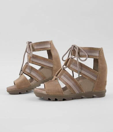 Sorel Joanie™ II Leather Wedge Heeled Sandal