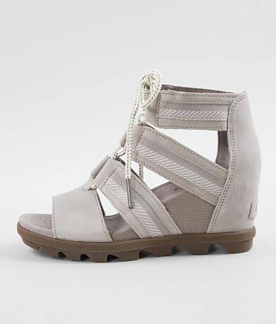 Sorel Joanie II™ Leather Wedge Sandal