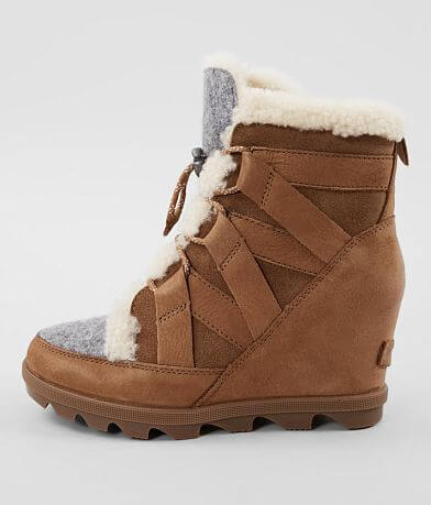 Sorel Joan of Artic™ Leather Wedge Boot