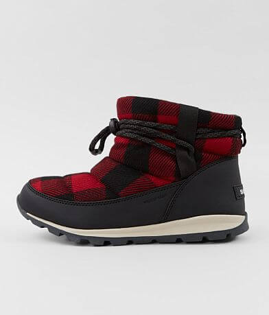 Sorel Whitney™ Short Buffalo Plaid Boot