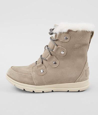 Sorel Explorer™ Joan Waterproof Suede Boot
