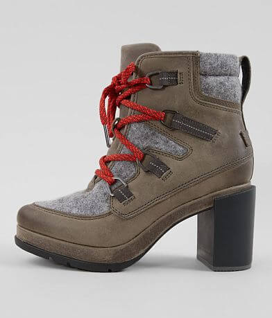 Sorel Blake™ Leather Heeled Hiker Boot