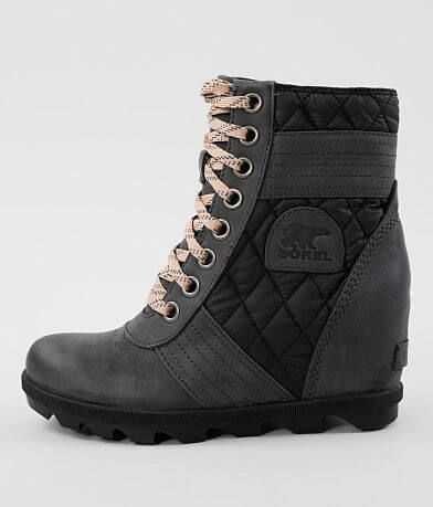 Sorel Lexie™ Waterproof Leather Wedge Boot