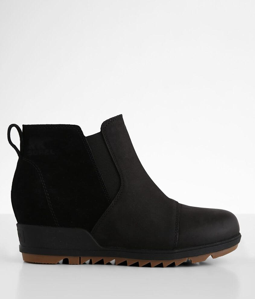 Sorel Evie™ Leather Wedge Ankle Boot front view