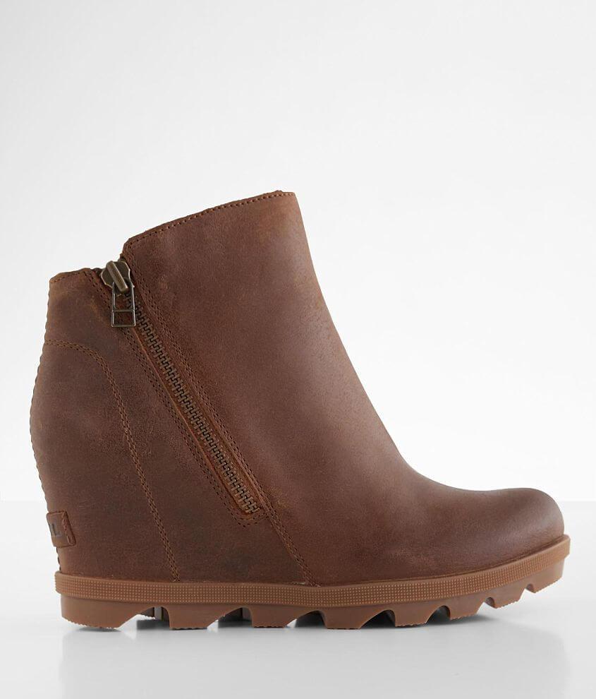 Sorel Joan Of Arctic™ Leather Wedge II Boot front view