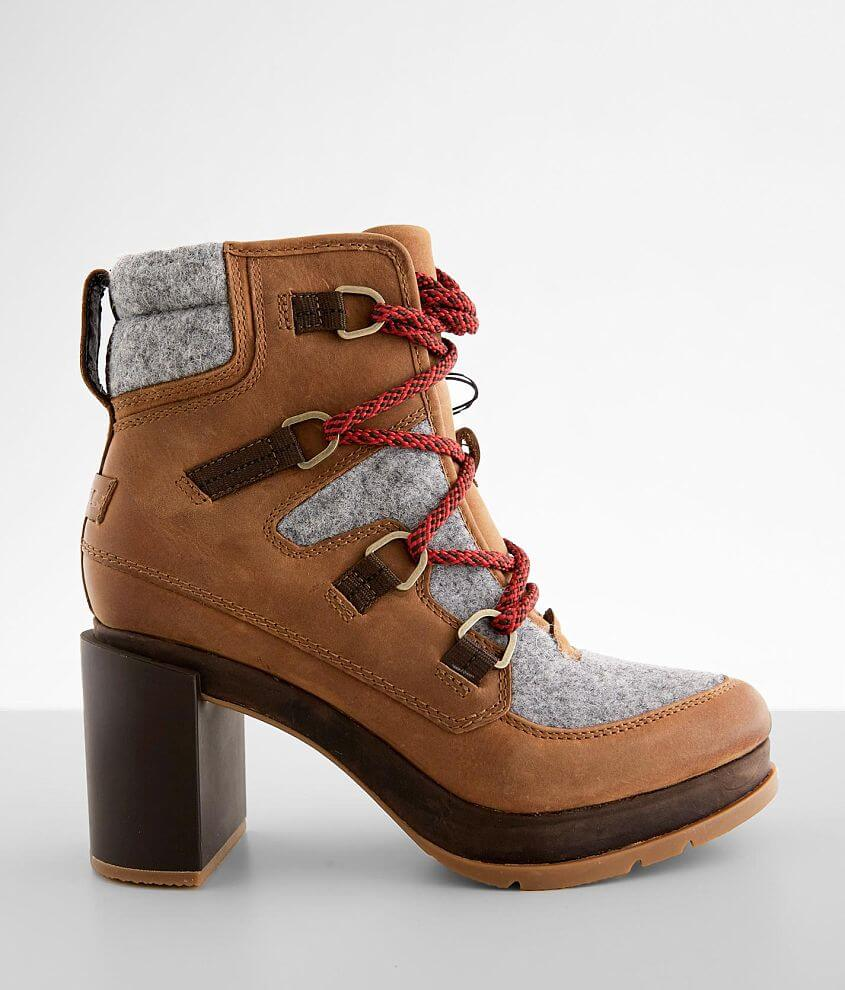 Sorel Blake™ Leather Heeled Ankle Boot front view