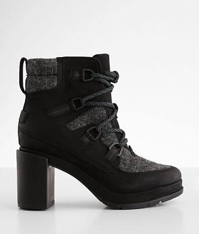 Sorel Blake™ Leather Heeled Ankle Boot