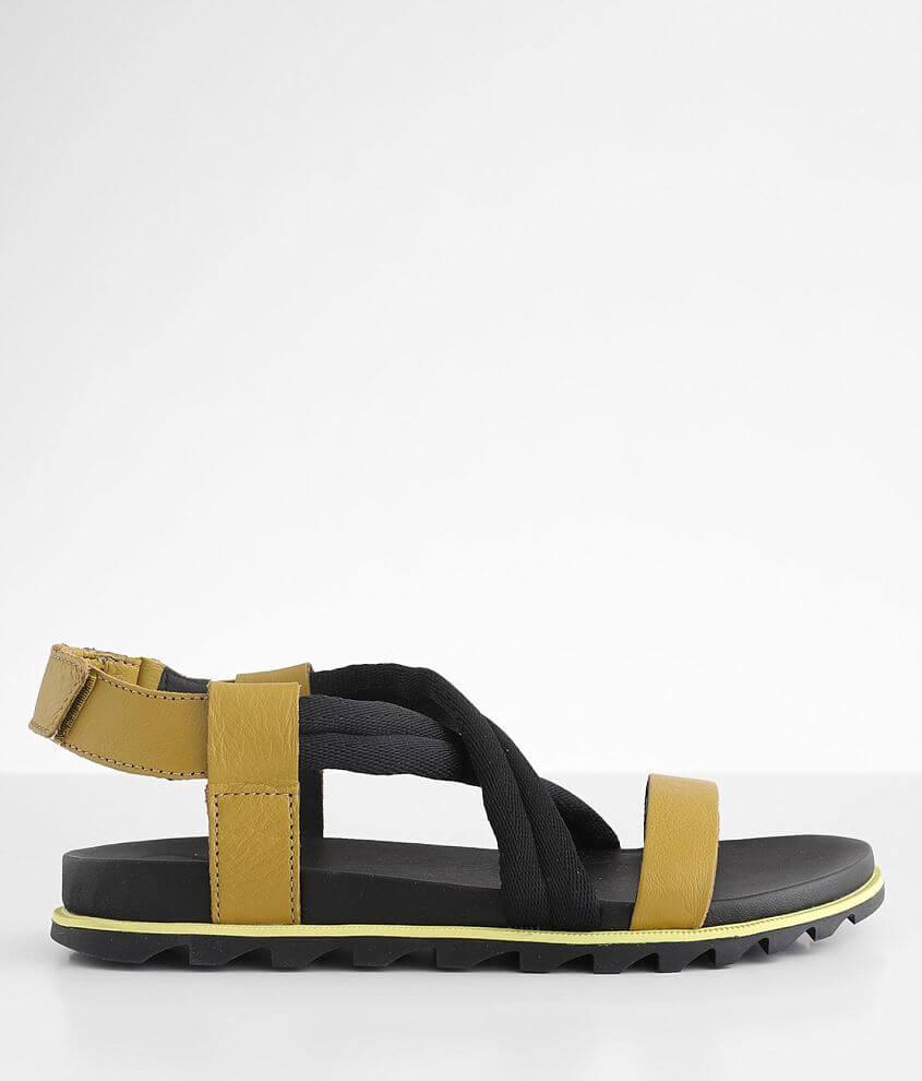 Sorel Roaming™ Decon Leather Sandal front view
