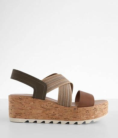 Sorel Cameron™ Slingback Leather Sandal