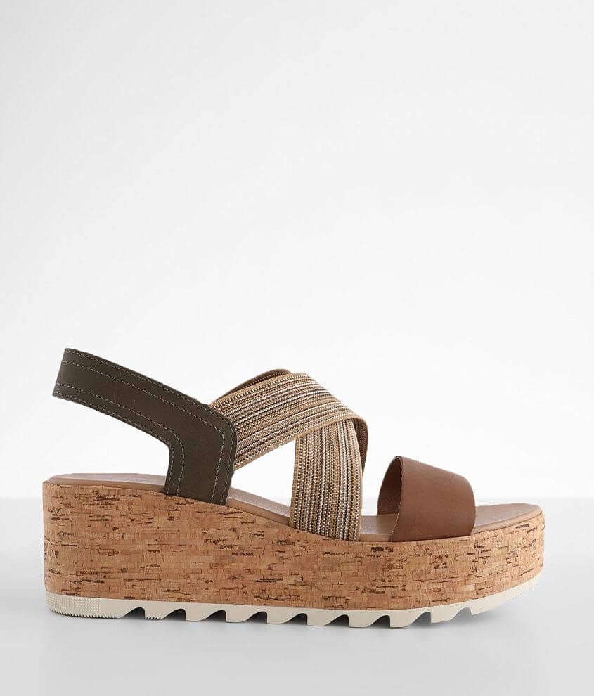 Sorel Cameron™ Slingback Leather Sandal front view