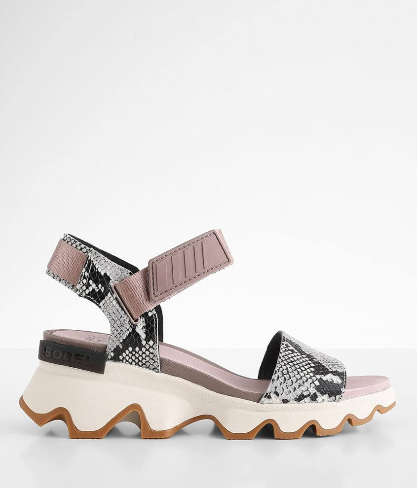 Sorel Kinetic™ Leather Sandal front view