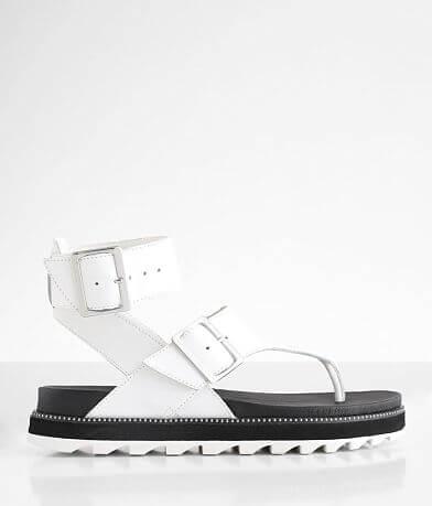 Sorel Roaming™ Flatform Leather Sandal
