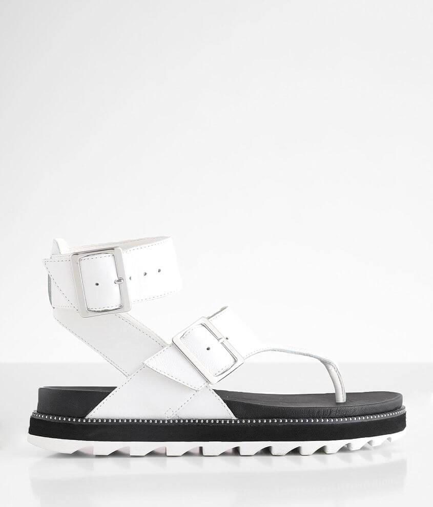 Sorel Roaming™ Flatform Leather Sandal front view