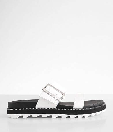 Sorel Roaming™ Leather Slide Sandal