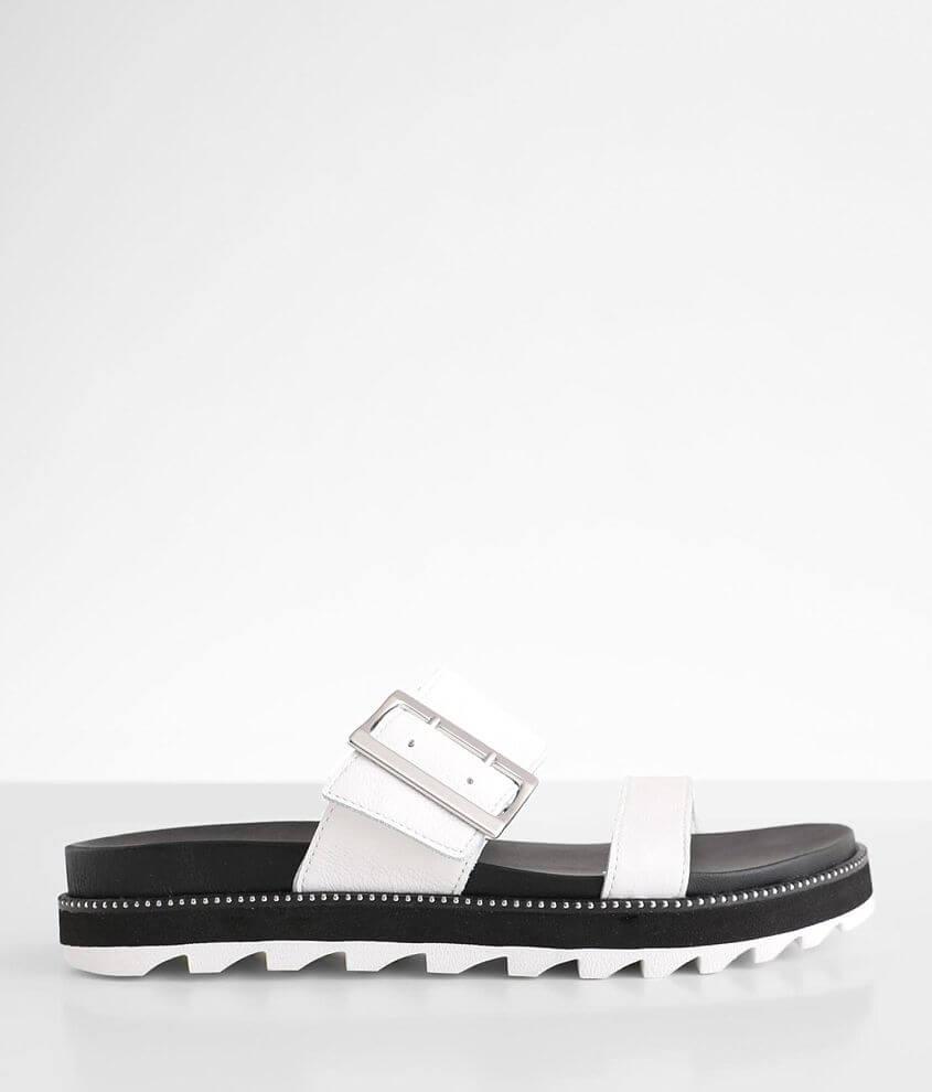 Sorel Roaming™ Leather Slide Sandal front view