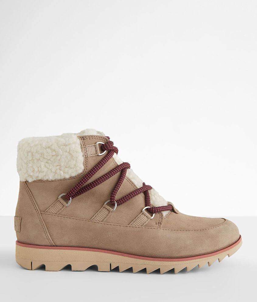 Sorel Harlow™ Cozy Leather Ankle Boot front view