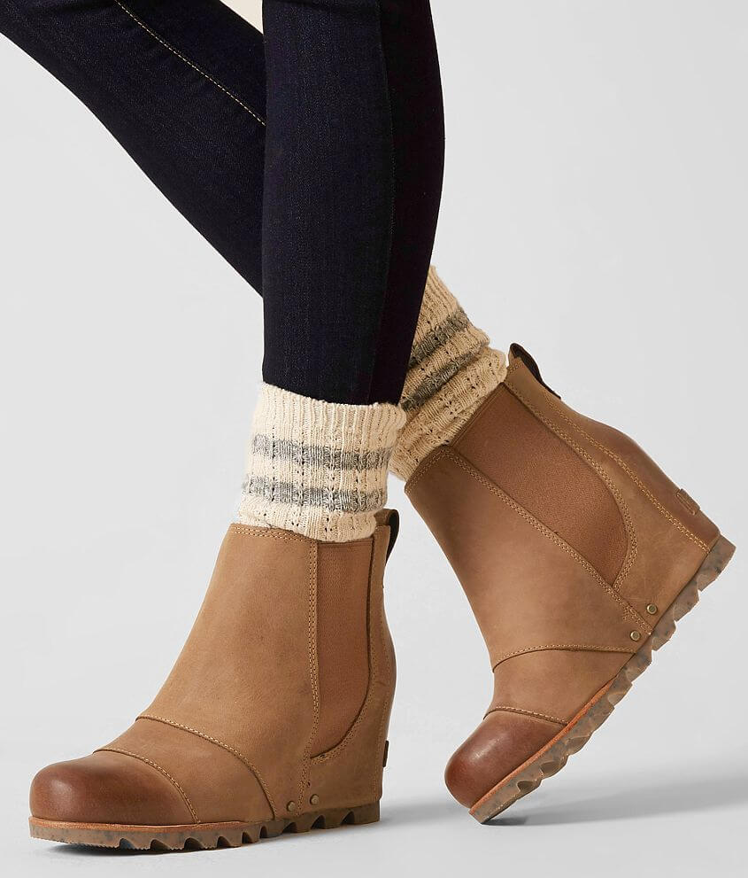 Sorel Lea™ Ankle Boot - Women s Shoes in Elk Curry  aaee53fd48ff